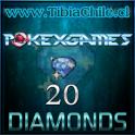 20 diamonds Pokexgames
