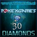 30 diamonds Pokexgames