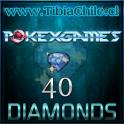 40 diamonds Pokexgames