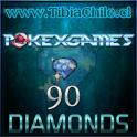 90 diamonds Pokexgames