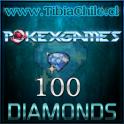 100 diamonds Pokexgames