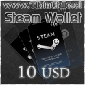 Steam Wallet 10 USD