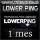 Lowerping 1 mes