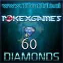 60 diamonds Pokexgames