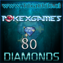80 diamonds Pokexgames