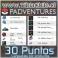 30 Puntos (Canjeables por productos)