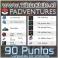 90 Puntos (Canjeables por productos)