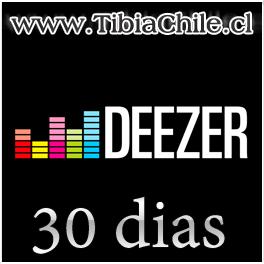Deezer 30 dias