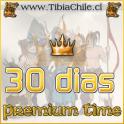 Premium time 30 dias (250 Tibia Coins)