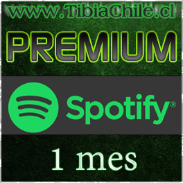Spotify Premium 1 mes