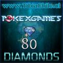 80 diamonds Pokexgames