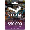 Steam wallet $50000