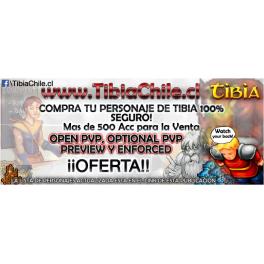 Personajes de Tibia EN OFERTA (Ver link en la descripción)