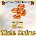 25 Tibia Coins