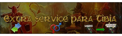 Extra service para Tibia
