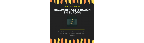 Recovery Key Buzon (llega en 3 a 7 dias!)